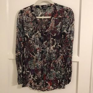 Lucky Brand floral top sz. S